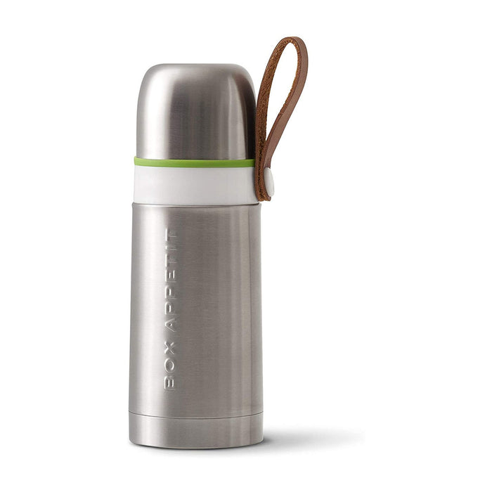 Black+Blum Thermo Vacuum Trave Flask Hot For 8 Hours Cold For 24 Hours Steel/Lime - Image 1