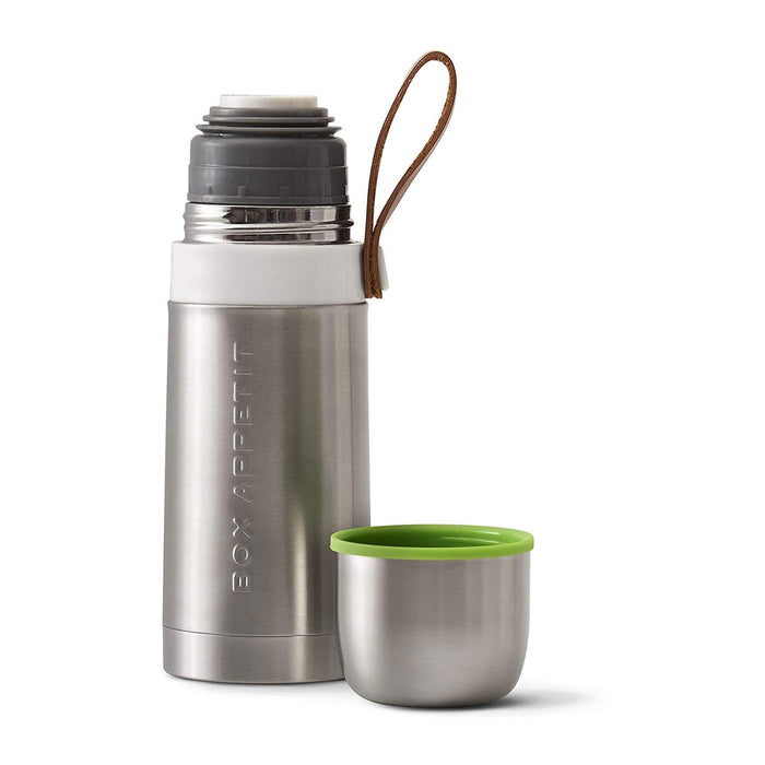 Black+Blum Thermo Vacuum Trave Flask Hot For 8 Hours Cold For 24 Hours Steel/Lime - Image 3
