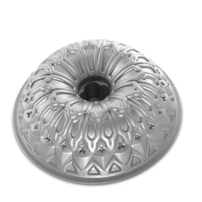 Nordic Ware Stained Glass Bundt Pan Metallic - Image 1