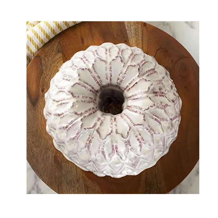 Nordic Ware Stained Glass Bundt Pan Metallic - Image 3