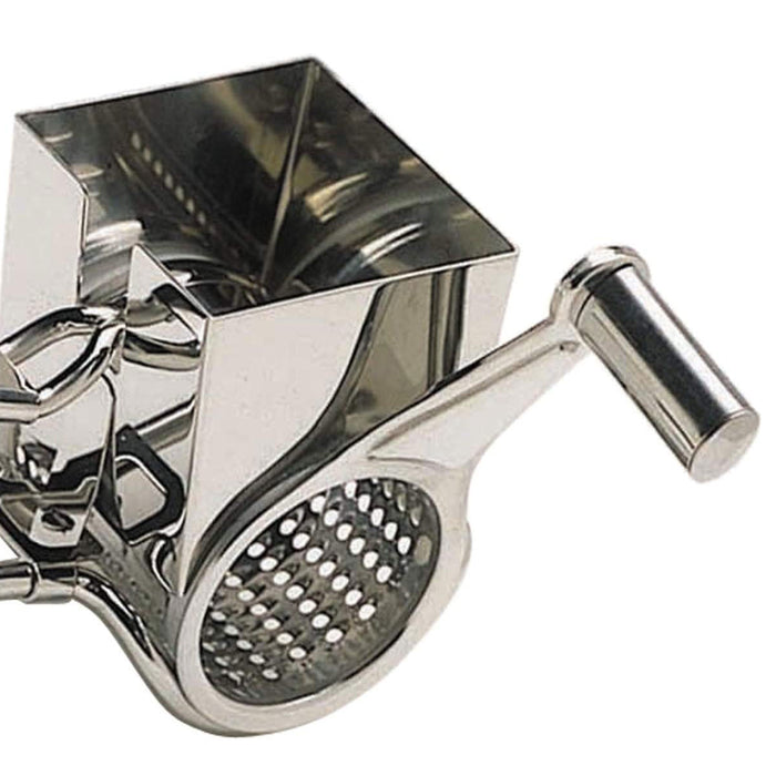"Kitchen Craft""Master Class-Deluxe"" Cheese Grater Stainless Steel Silver 9x12x16cm - Image 3"