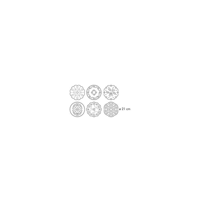 Tescoma Delicia 6-Piece Decorating Templates - Image 5
