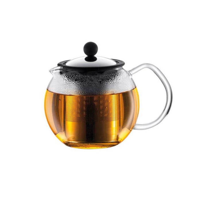 Bodum Teapot Press Glass Handle 0.5l with Permanent Filter - Image 1