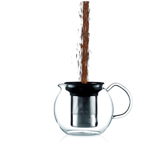Bodum Teapot Press Glass Handle 0.5l with Permanent Filter - Image 2