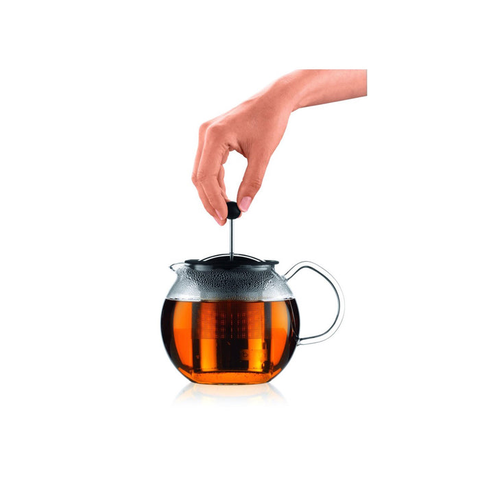 Bodum Teapot Press Glass Handle 0.5l with Permanent Filter - Image 4