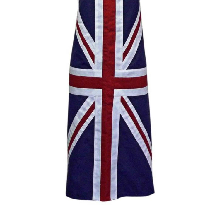 Union Jack Apron Adult Large 100% Cotton Machine Washable Adjustable neck strap - Image 2