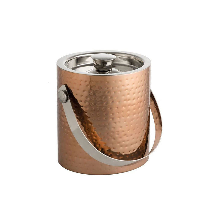 Epicurean Ice Bucket with Tongs Copper - Image 1