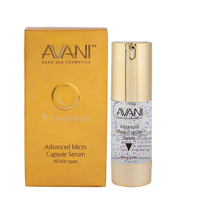 Avani Dead Sea Timeless Advanced Micro-Capsule Serum 1 fl.oz / 30ml Anti ageing - Image 1