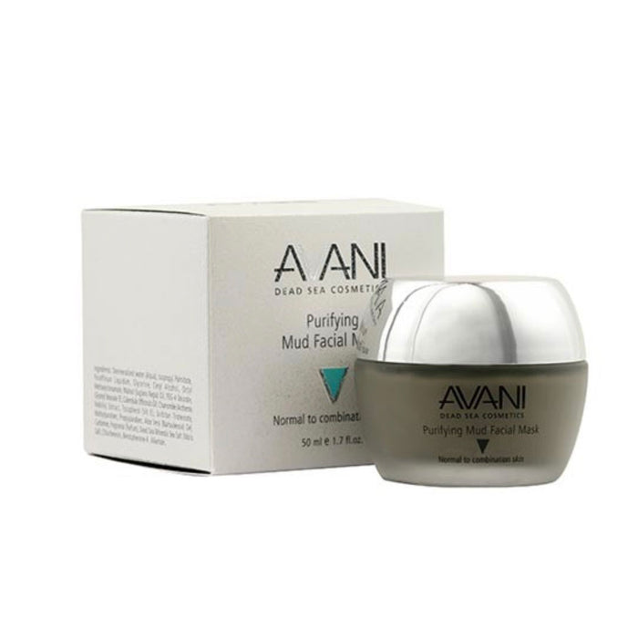 Avani Purifying Mud Facial Mask Rich in Dead Sea Minerals and Essential Oils - Image 1