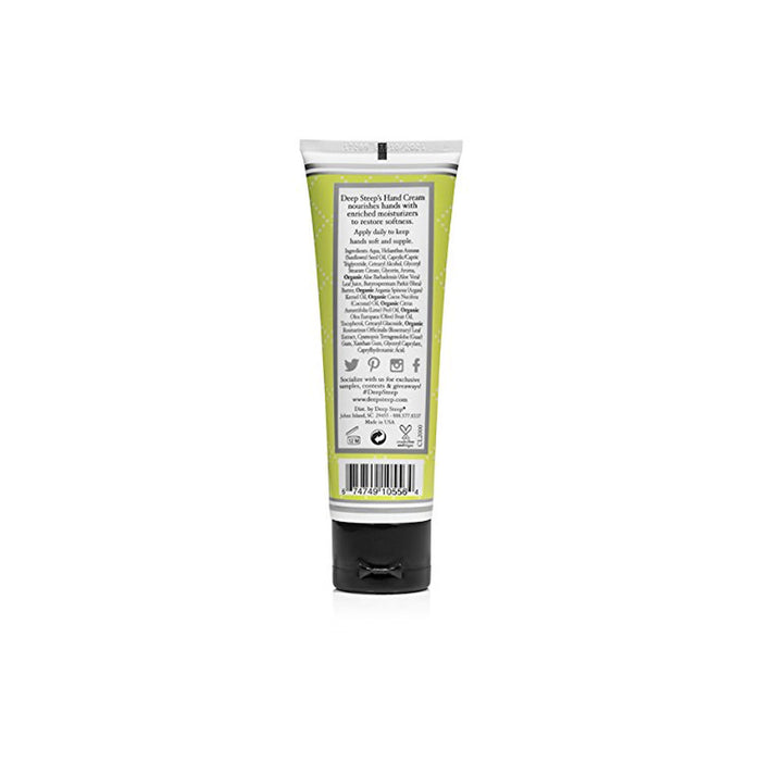 Deep Steep Hand Cream Coconut Lime 2 fl oz 59ml Natural Vegan Cruelty Free - Image 2