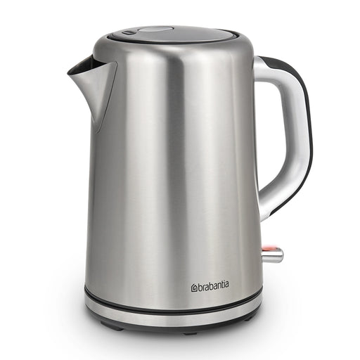 Brabantia BBEK1001 Soft Grip Stainless Steel Cordless Kettle 1.7L - Image 1