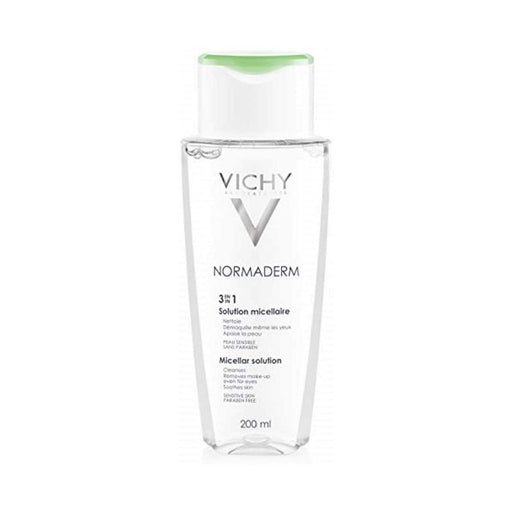 Vichy Normaderm 3-in-1 Micellar Solution makeup removers (Oily skin, Shine)200ml - Image 1
