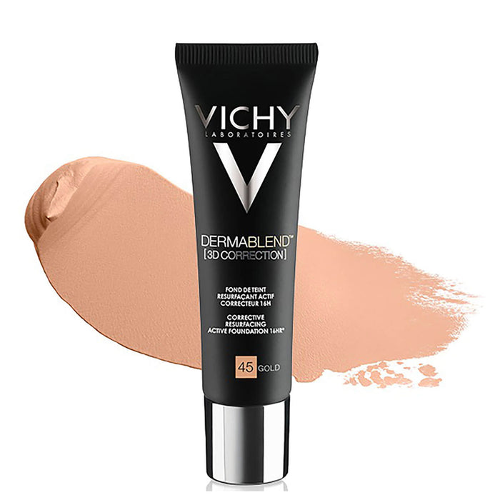 Vichy Dermablend 3D Corrective Resurfacing Foundation Gold 45 30ml - Image 1