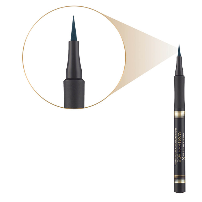 Max Factor Masterpiece High Precision Liquid Eyeliner Black 13.3ml - Image 2