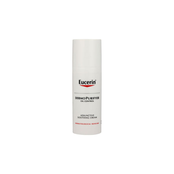Eucerin Dermo Purifyer Face Adjuctive Smoothing Cream 50ml Oil Control - Image 1