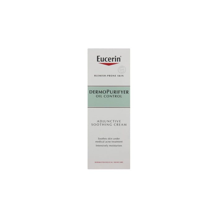 Eucerin Dermo Purifyer Face Adjuctive Smoothing Cream 50ml Oil Control - Image 2