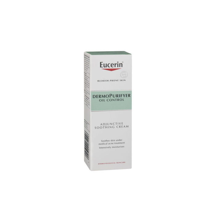 Eucerin Dermo Purifyer Face Adjuctive Smoothing Cream 50ml Oil Control - Image 3
