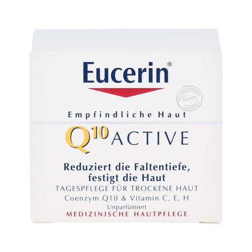 Eucerin Q10 Active Anti-Wrinkle Day Cream - Dry Skin 50ml - Image 1