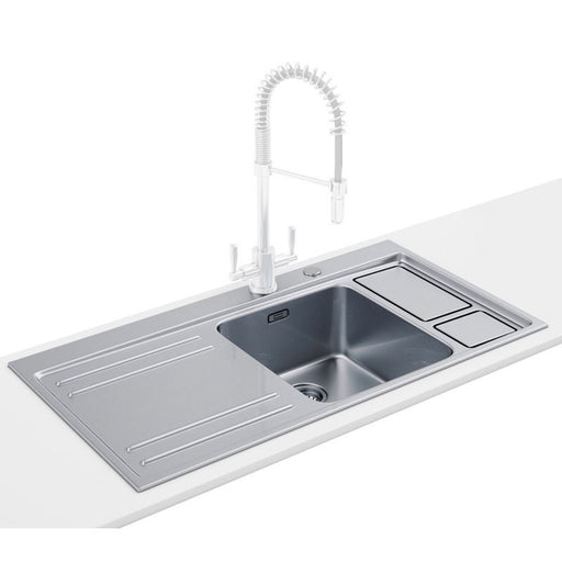 Franke Largo Workcentre Dp Lax 211-W-36 1.0 B Stainless Steel Sink And Tap - Image 1