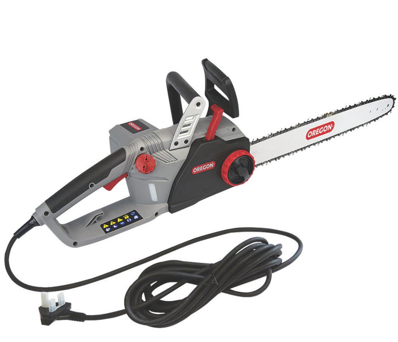 Oregon Garden Electric Chainsaw 45cm CS1500 2400W 230V Self Sharpening - Image 3