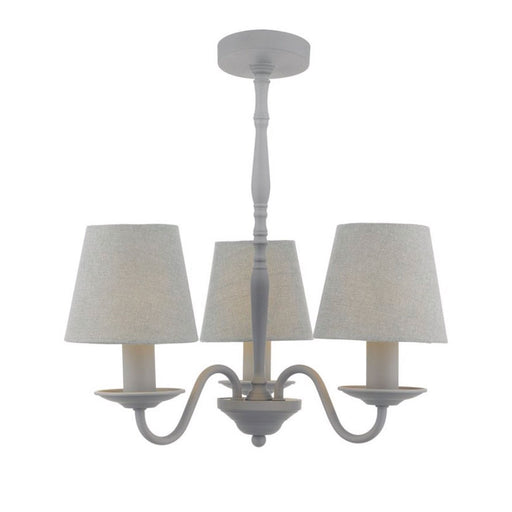 Joanna 3-Light Shaded Chandelier - Image 1