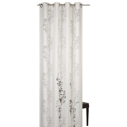 Balmorhea Eyelet Curtain Semi Sheer Single Beige 140 x 255cm - Image 1