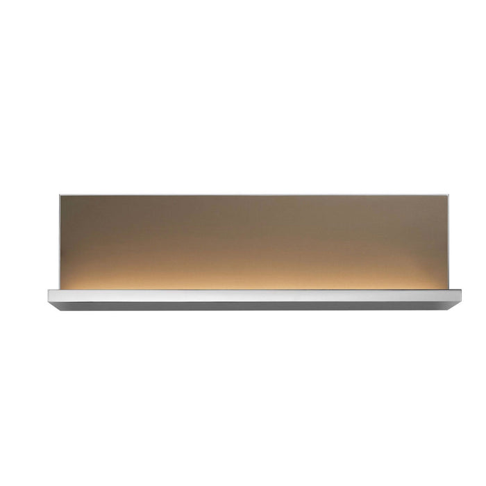 L Shape Wall Light Shelf Anodised Bronze Panel  40cm - Image 1