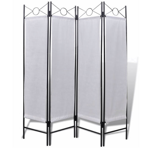 180cm x 160cm 4 Panel Room Divider - Image 1
