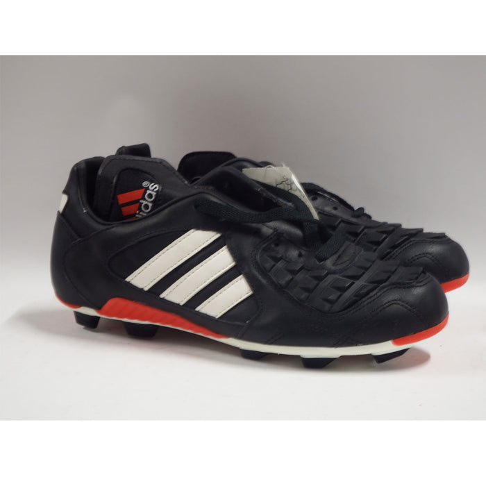 Adidas Predator Touch Football Boots Moulded Studs 1996 Black White Red Size 5 - Image 3
