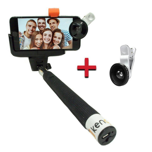Wireless Bluetooth Monopod Selfie Stick Tripod for iPhone Samsung LG HTC - Image 1
