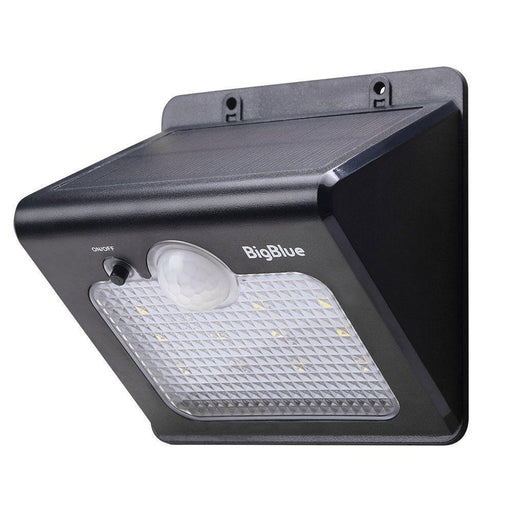 BigBlue 12 Bright LED Solar Wall Light - Image 1
