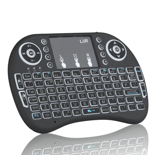 LIIR 2.4GHz Wireless Mini Keyboard with Touchpad Mouse - Image 1