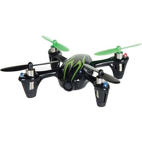 Hubsan X4 2.4G 4CH RC Quadcopter With Camera RTF - Black/Green - Image 1