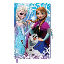 Frozen Secret Diary With Lock - Image 1