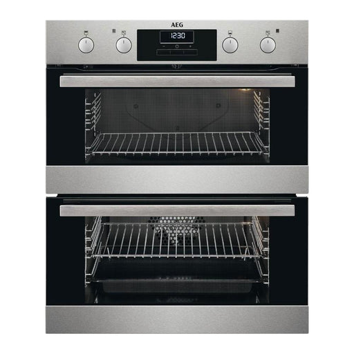 AEG SurroundCook DUB331110M Electric Double Oven - Stainless Steel - Image 1