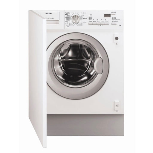 Aeg L61271Wdbi Integrated Washer Dryer - Image 1