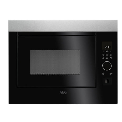 AEG MBE2658D-M Built In Microwave With Grill - Stainless Steel - Image 1