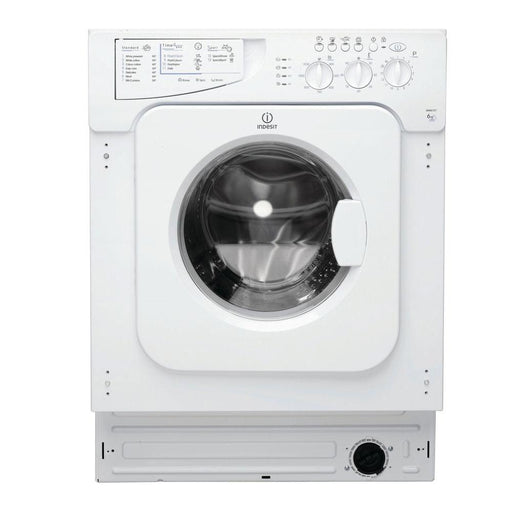 INDESIT Ecotime IWME127 Integrated Washing Machine - White - Image 1