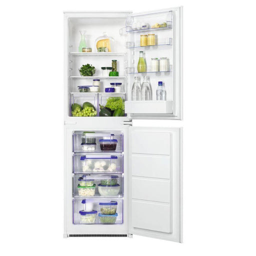 Zanussi Zbb27450Sv 50:50 Integrated Fridge Freezer - Image 1