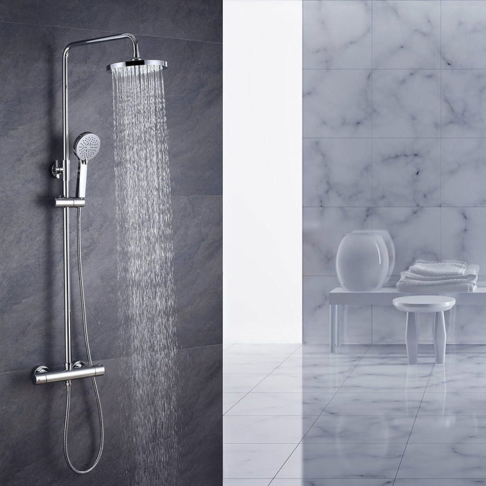 Bemer-VM107 Thermostatic Mixer Shower Cool Touch Round - Image 1