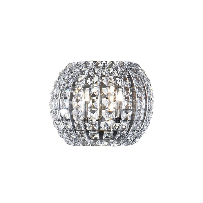Mikado Living Diamond Glass 2 - Light Flush Mount Wall Light - Image 1