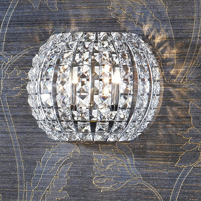 Mikado Living Diamond Glass 2 - Light Flush Mount Wall Light - Image 2