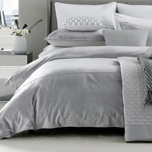 Samsara Platinum Duvet Cover King Size 220 x 230cm Pillowcases Not Included - Image 1