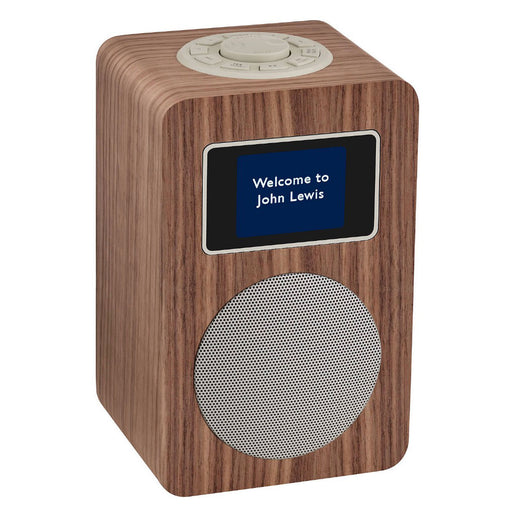 Aria Dab/Dab+/Fm Bluetooth Radio, Walnut - Image 1