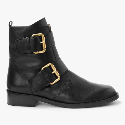 Boden Cavenham Leather Ankle Boots Black Size 7 - Image 1