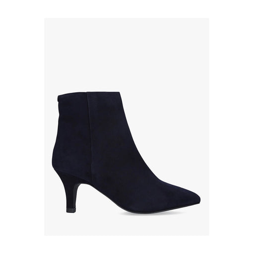 Carvela Comfort Romy Stiletto Pointed Toe Suede Ankle Boots Black UK7 - Image 1