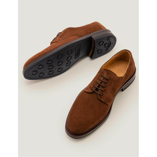 Corby Derby Shoes Navy Suede Size 43 - Image 1