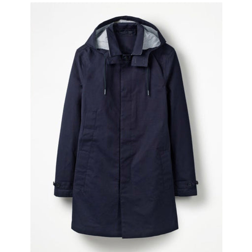 Holborn Mac Men Rain Coat Navy Size M - Image 1
