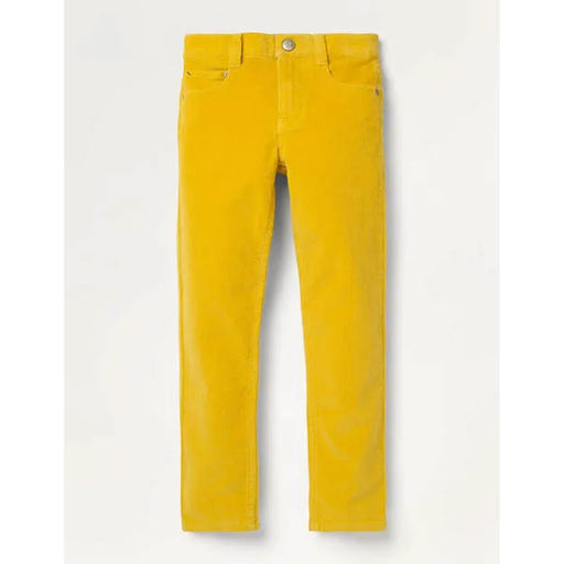 Boden Slim Jeans Cord Stretch Honeycomb Yellow 8 Y 128 cm - Image 1