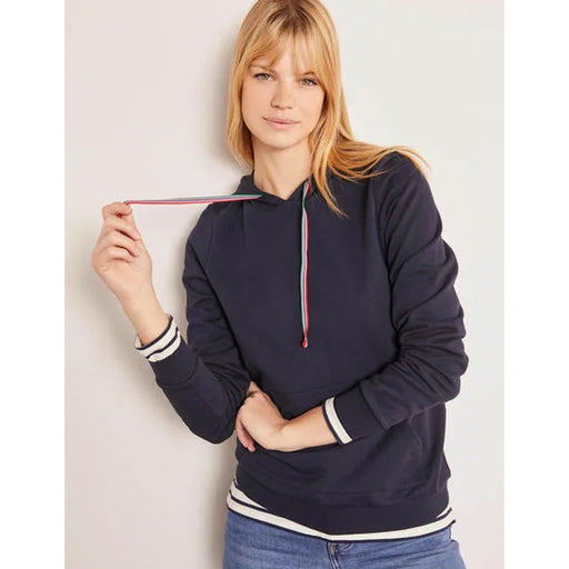Boden Hooded Sweatshirt Oriel Navy Size XL - Image 1